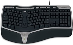 Microsoft Natural Ergonomic Keyboard 4000 USB QWERTY Engels Zwart toetsenbord