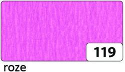 Crepepapier Folia 250x50cm nr119 roze