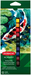 Acrylverf Derwent Academy 12ml assorti