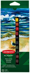 Aquarelverf Derwent Academy 12 ml assorti