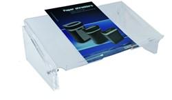 Acryl documenthouder A3, verstelbaar, smal