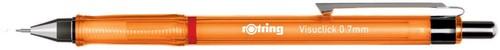 Rotring vulpotlood Visuclick, 0,7 mm, oranje