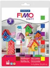 Fimo soft set - basisset 9 halve blokken