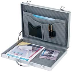 ALUMAXX attaché koffer, aluminium, zilver