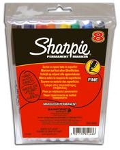 Sharpie - Viltstift Fine - Set van 8 stuks
