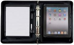 """Alassio tablet-pc Organizer """"PIEMONTE"""", A5, zwart"""
