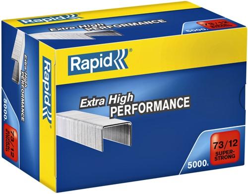 Nieten Rapid 73/12 gegalvaniseerd super strong 5000 stuks