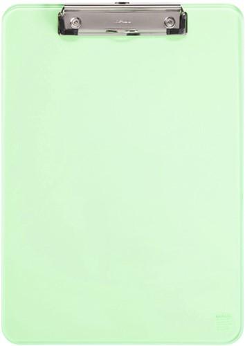 Klembord MAUL A4 staand transparant neon groen
