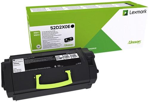 Tonercartridge Lexmark 52D2XOE prebate zwart HC
