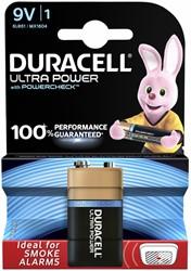 Batterij Duracell Ultra Power 1x9Volt MX1604