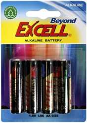 Batterij Excell AA alkaline