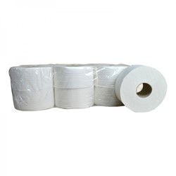 Toiletpapier Mini Jumbo cellulose 2 lgs