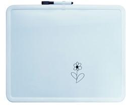 Whiteboard 40x50 cm, wit frame