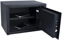 Kluis Pavo 350x250x250mm fingerprint electronisch zwart-1