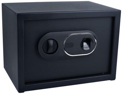Kluis Pavo 350x250x250mm fingerprint elektronisch zwart