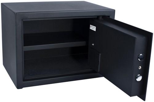 Kluis Pavo 350x250x250mm fingerprint electronisch zwart-3