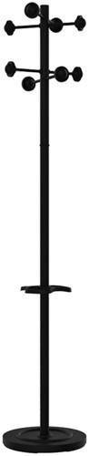Kapstok staand Unilux Accueil zwart