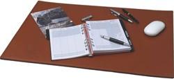 Alassio bureau-onderlegger Cognac 650 x 450 mm