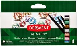 Viltstift Derwent Academy metallic assorti
