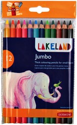 Kleurpotloden Derwent lakeland jumbo assorti
