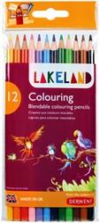 Kleurpotloden Derwent Lakeland assorti