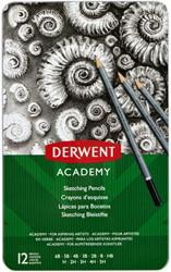 Potlood Derwent Academy 6B5H assorti hardheden