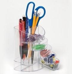 Bureauorganiser Officemate supply transparant