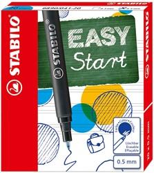 Stabilo vulling Easy Original, medium, blauw, doos met 20 stuks