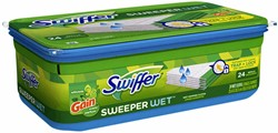 Swiffer navulling met 24 vochtige doekjes