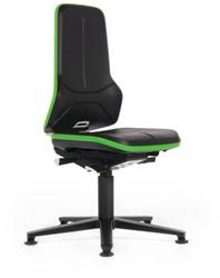 Werkstoel Bimos Neon-1 9560 permanent rugleuning met glijders