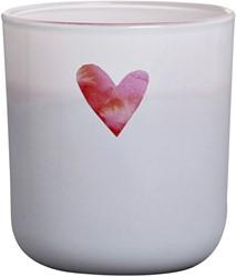 Geurkaars in glas Bolsius Lot's of Love 90x83x83mm