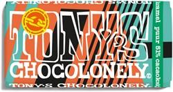 Chocolade Tony's Chocolonely puur 51% cacaokoekje 180gr