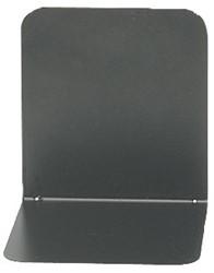 boekensteun Alco 130x140x140mm metaal 2 stuks in doos zwart