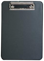 klembord Alco karton met kunststof omtrokken, A5 zwart