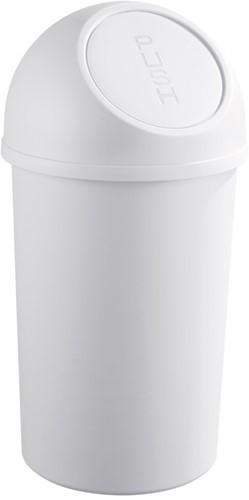 Afvalbak klapdeksel, 45L, lichtgrijs