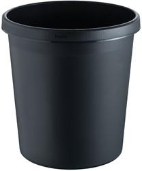 Afvalbak, 18l zwart