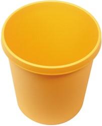 Afvalbak, 30l geel