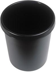 Afvalbak, 30l zwart