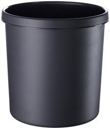 Afvalbak, 12l vlamdovend zwart