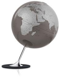 globe Anglo Slate 25cm diameter metaal / chrome