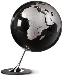 globe Anglo Black 25cm diameter metaal / chrome