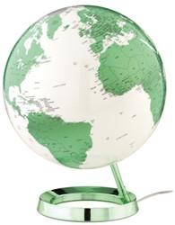 globe Bright HOT green 30cm diameter kunststof voet met verlichting