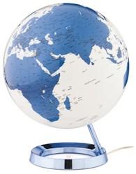 Globe Bright HOT blue 30cm diameter kunststof voet met verlichting