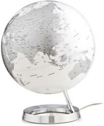 globe Bright Chrome 30cm diameter kunststof voet engelstalig