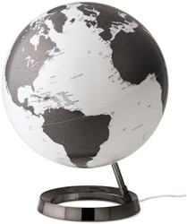 globe Bright Charcoal diameter30cm kunststof voet met verlichting