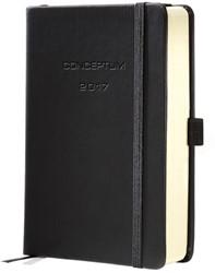dagagenda Sigel Conceptum A5 2017 hardcover zwart