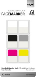pagemarker Sigel Conceptum 20x26mm 100 micron 5 kleuren