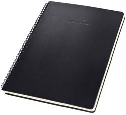 Notitieblok Sigel CONCEPTUM hardcover A4 zwart ruit