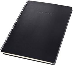 Notitieblok Sigel CONCEPTUM hardcover A4 zwart gelinieerd incl. register
