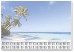 bureauonderleggers Sigel 59,4x41cm 30 vel Beach